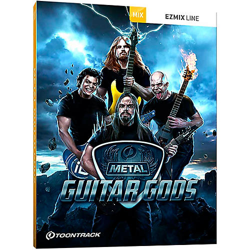Toontrack Metal Guitar Gods EZMix Pack (Download)