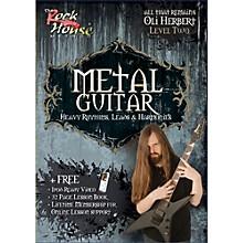 Hal Leonard Metal Guitar- Heavy Rhythms, Leads & Harmonies Level 2 with Oli Herbert of All That Remains (DVD)