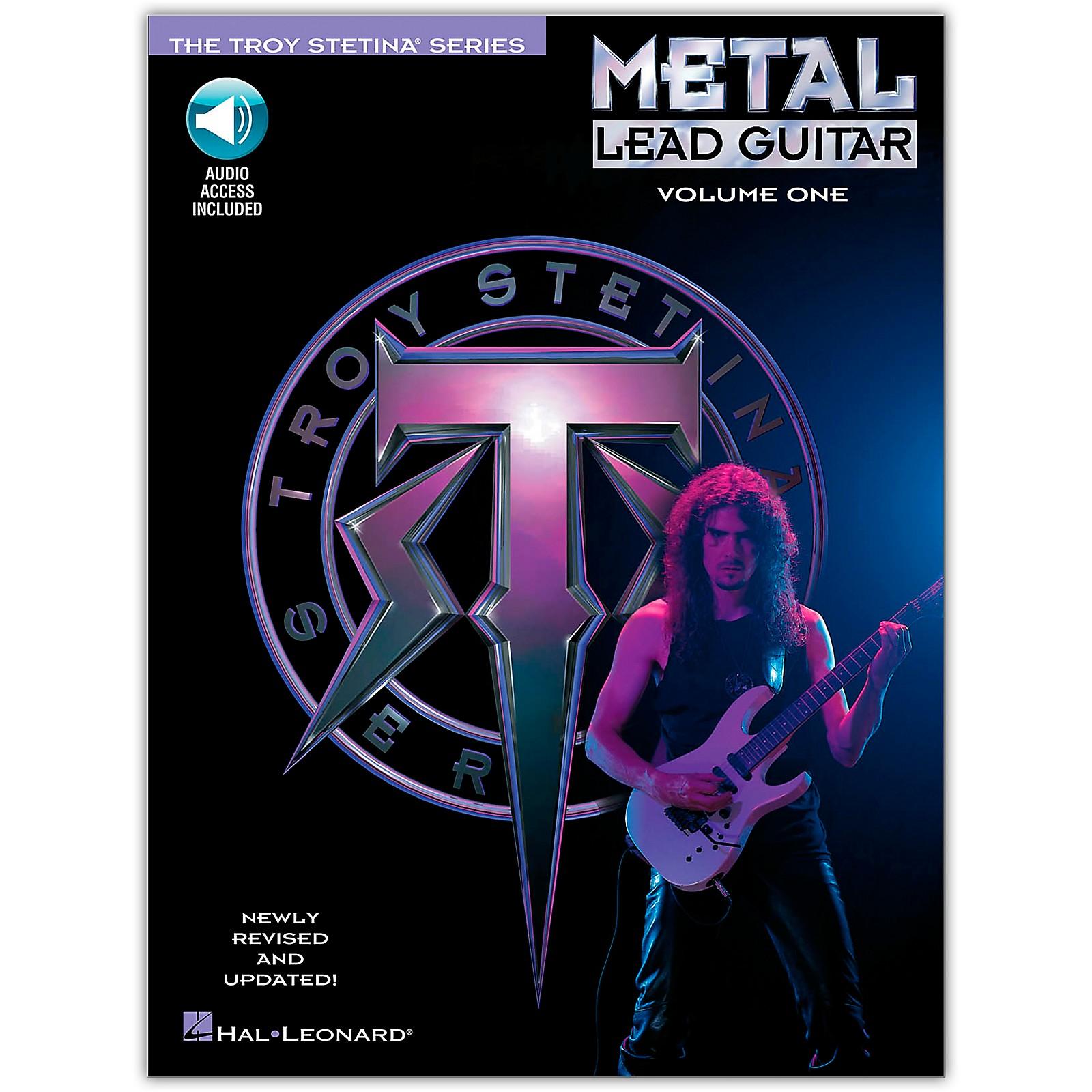 Hal Leonard Metal Lead Guitar Volume 1 (Book/Online Audio)