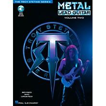 Hal Leonard Metal Lead Guitar Volume 2 (Book/CD)