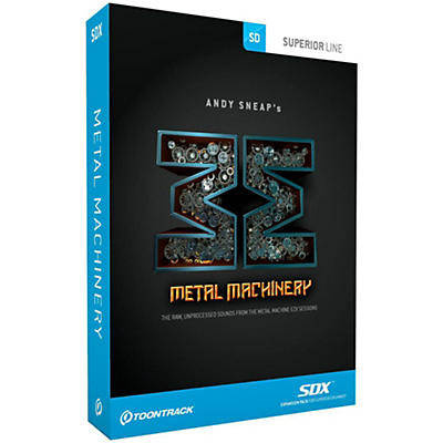 Toontrack Metal Machinery SDX