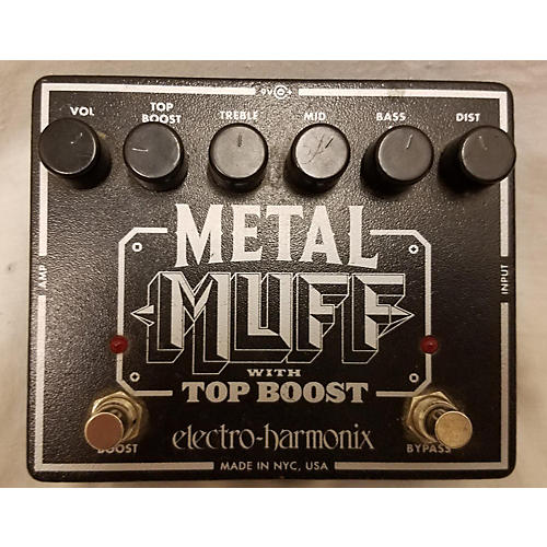 Metal Muff Distortion With Top Boost Effect Pedal