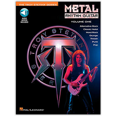 Hal Leonard Metal Rhythm Guitar Volume 1 (Book/Online Audio)