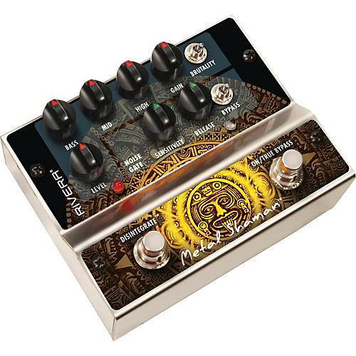 rivera metal shaman distortion guitar effects pedal musician 39 s friend. Black Bedroom Furniture Sets. Home Design Ideas