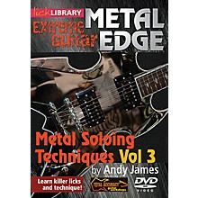 Licklibrary Metal Soloing Techniques, Volume 3 Lick Library Series DVD Performed by Andy James