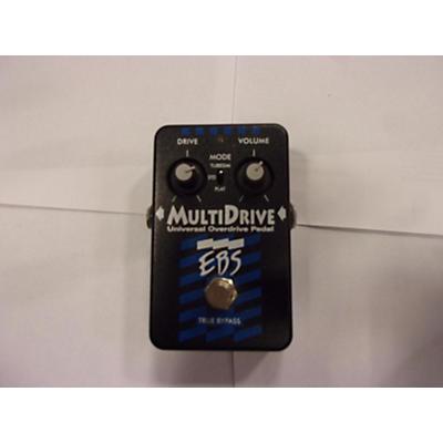 EBS Metaldrive Hi Gain Overdrive Bass Effect Pedal