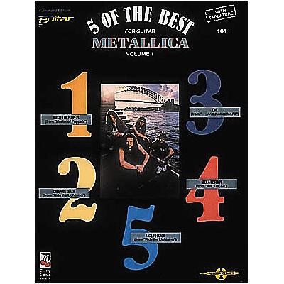 Cherry Lane Metallica - 5 of the Best Volume 1 Book