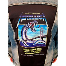 Dragonfly Clothing Metallica - A Day On The Green - Mens Denim Jacket