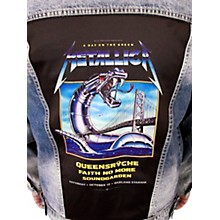 Dragonfly Clothing Metallica - A Day On The Green - Womens Denim Jacket
