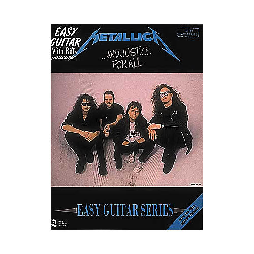 Cherry Lane Metallica - And Justice for All Book