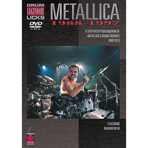 Cherry Lane Metallica - Drum Legendary Licks 1988-1997 DVD