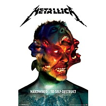 Trends International Metallica - Hardwired Poster