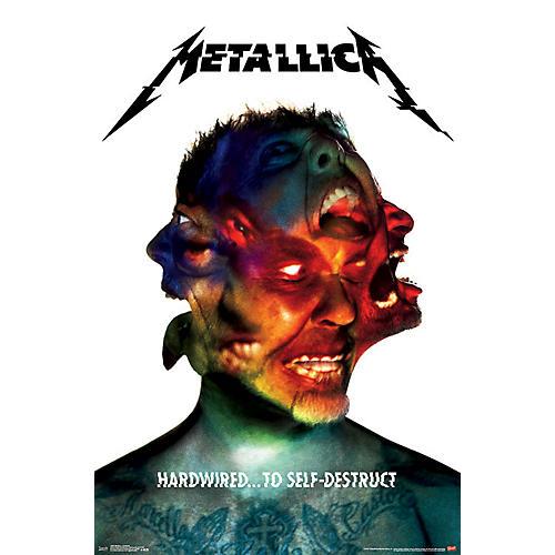 Trends International Metallica - Hardwired Poster
