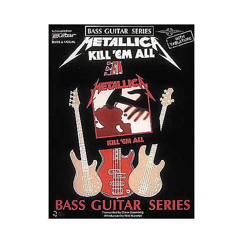 Cherry Lane Metallica - Kill 'em All Bass Guitar Series Tab Songbook