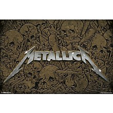 Metallica - Logo Poster Premium Unframed