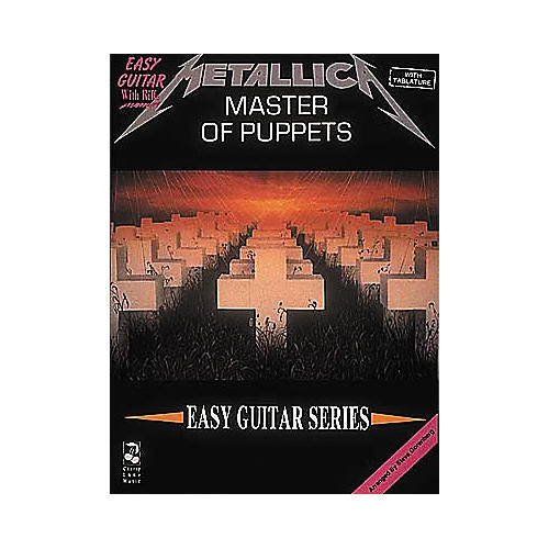Cherry Lane Metallica - Master of Puppets Book