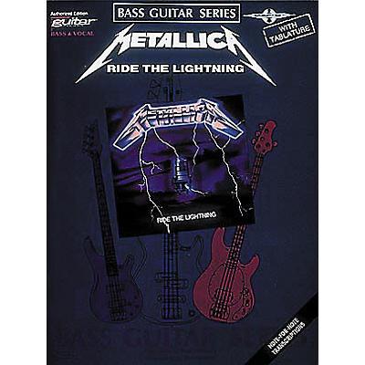 Hal Leonard Metallica - Ride the Lightning Bass Tab Book