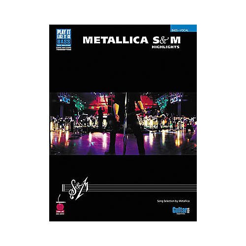 Cherry Lane Metallica - S&M Highlights Book