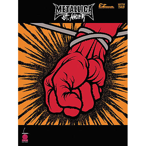 Cherry Lane Metallica - St. Anger Book