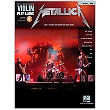 Hal Leonard Metallica - Violin Play-Along Volume 70 Book/Online Audio