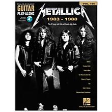 Hal Leonard Metallica: 1983-1988 Guitar Play-Along Volume 195 Book/Audio Online