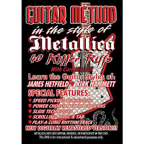 MVP Metallica 40 Killer Riffs Guitar (DVD)