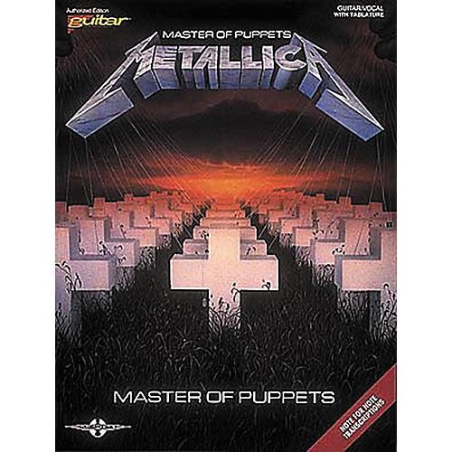 Hal Leonard Metallica Master of Puppets Guitar Tab Songbook