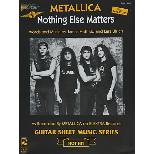 Cherry Lane Metallica: Nothing Else Matters (Sheet Music)