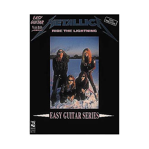 Cherry Lane Metallica Ride the Lightning Easy Guitar Tab Songbook