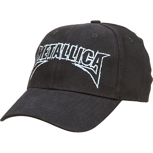 Bravado Metallica Silver Logo Fitted Cap