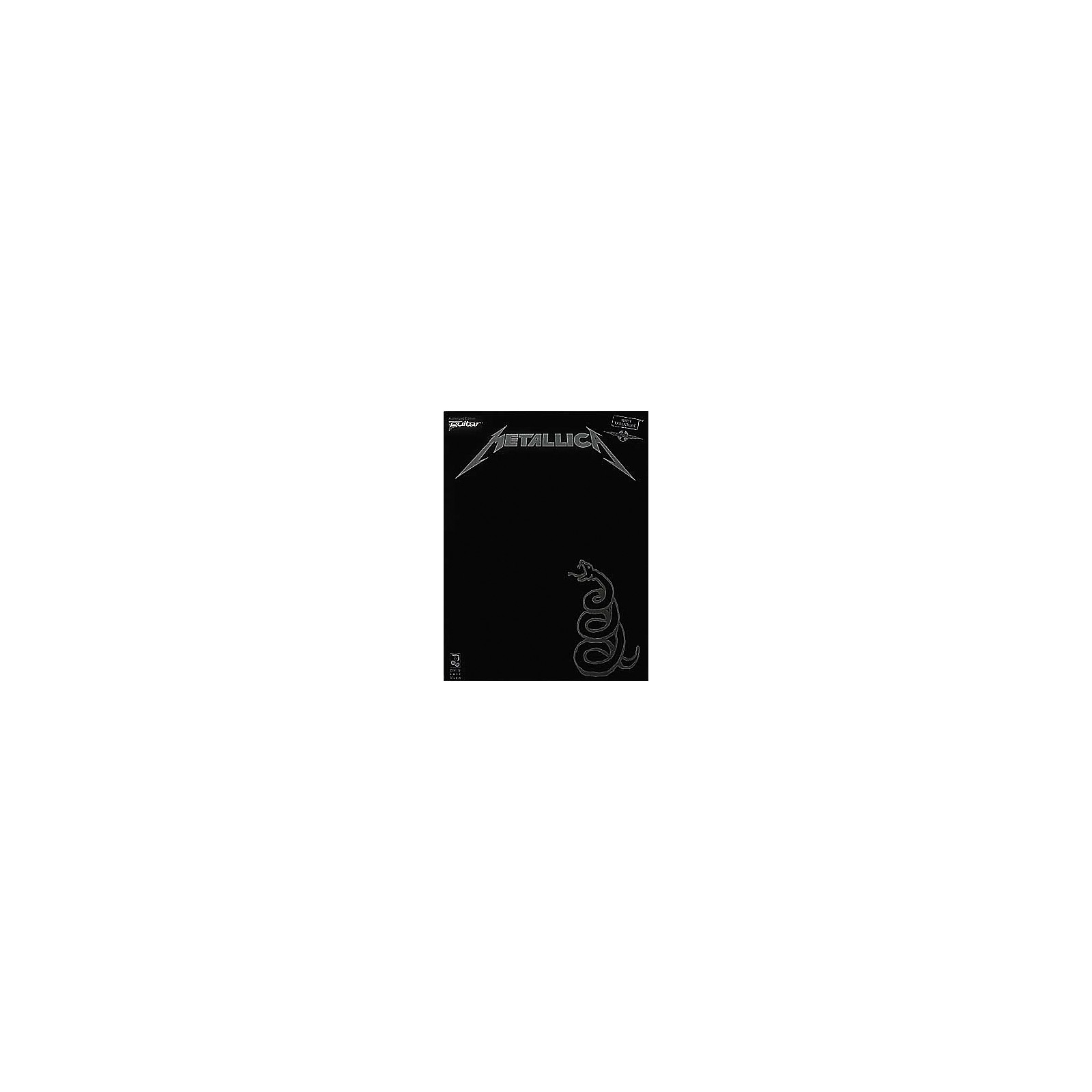 Hal Leonard Metallica The Black Album Guitar Tab Songbook