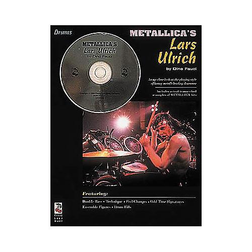 Hal Leonard Metallica's Lars Ulrich - Drum Book/CD Pack