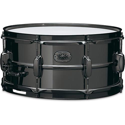 TAMA Metalworks Steel Snare Drum 14 x 6.5 in. Black Nickel Hardware