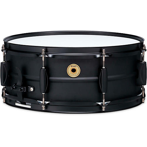 TAMA Metalworks Steel Snare Drum with Matte Black Shell Hardware 14 x 5.5 in.