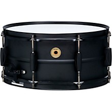 TAMA Metalworks Steel Snare Drum with Matte Black Shell Hardware