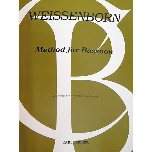 Carl Fischer Method For Bassoon