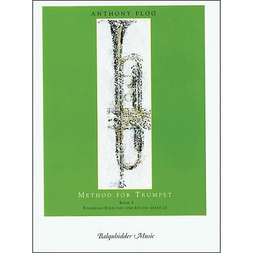 Carl Fischer Method for Trumpet - Book 3 (Fingering Exercises and Etudes-Pt. 2) Book