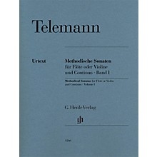G. Henle Verlag Methodical Sonatas for Flute or Violin and Continuo - Volume 1 Henle Music Softcover by Telemann
