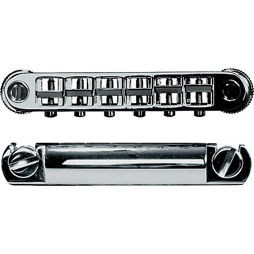 TonePros Metric Locking Tune-o-matic/Tailpiece Set (large posts)