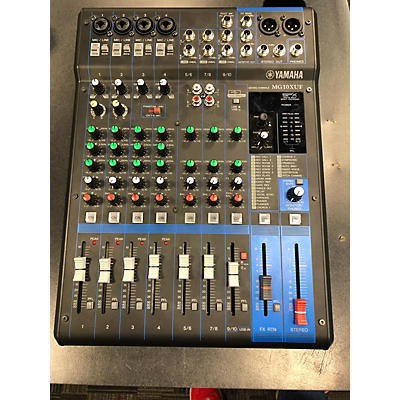 Yamaha Mg10xuf Unpowered Mixer