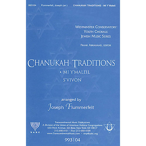 Transcontinental Music Mi Y'maleil? (Who Can Retell?) SATB arranged by Joseph Flummerfelt