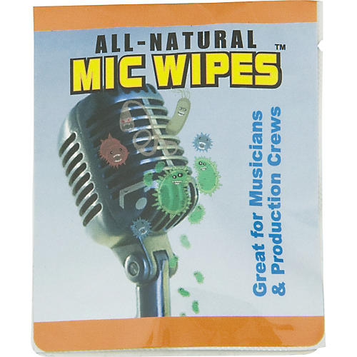 Pro Tour Mic Wipes Microphone Sanitizing Wipe
