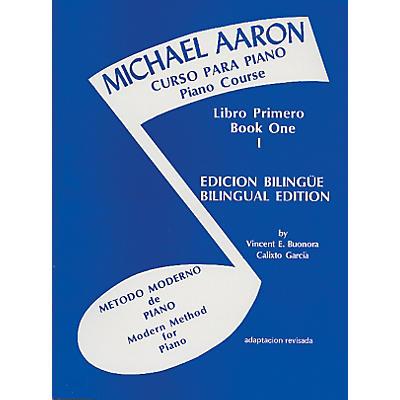 Alfred Michael Aaron Piano Course Spanish & English Edition (Curso Para Piano) Book 1 Book 1