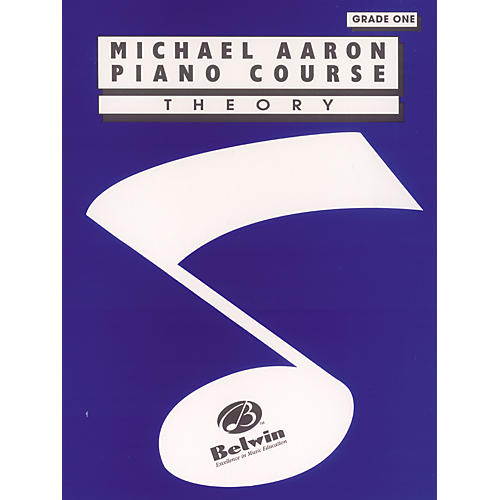 Alfred Michael Aaron Piano Course Theory Grade 1