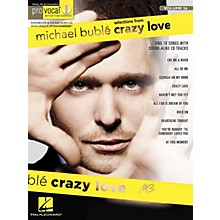 Hal Leonard Michael Buble - Crazy Love (Pro Vocal Men's Edition Volume 56) Pro Vocal Series Softcover with CD
