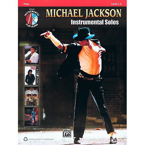 Hal Leonard Michael Jackson - Instrumental Solos Play-Along for Flute Book/CD
