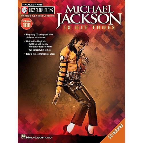Hal Leonard Michael Jackson - Jazz Play-Along Volume 180 Book/CD