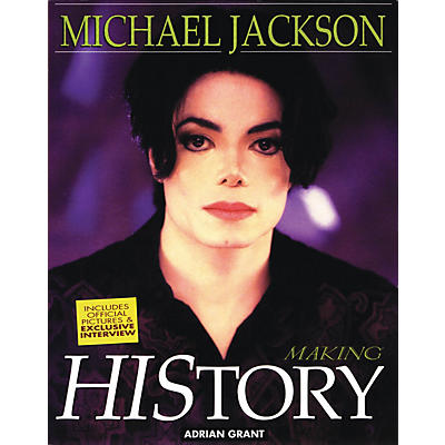 Omnibus Michael Jackson - Making History Omnibus Press Series Softcover Written by Adrian Grant