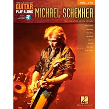Hal Leonard Michael Schenker - Guitar Play-Along Vol. 175 Book/CD