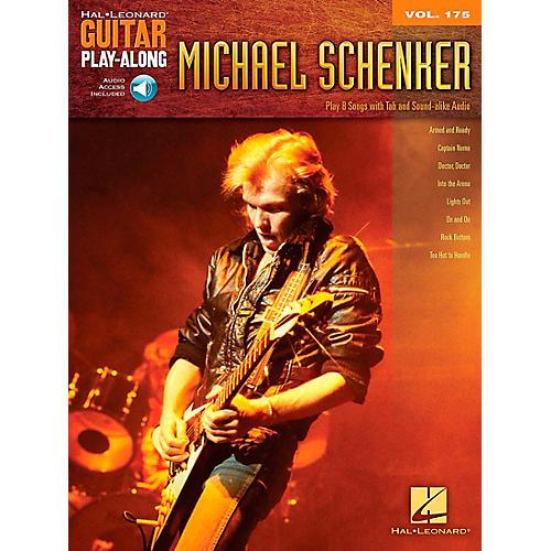 Hal Leonard Michael Schenker - Guitar Play-Along Vol. 175 Book/CD